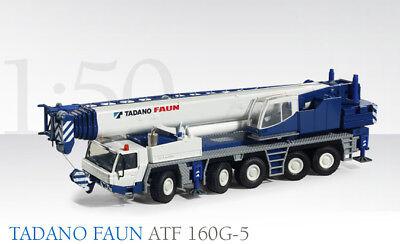 Conrad 2103 Faun ATF 160G-5 5-Axle Mobile Crane 1/50 O scale MIB