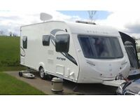 2010 Sterling Europa 550 4 Berth c/w with Awning, motor mover & gas BBQ point