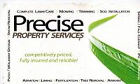 Precise  Property Services - Snow Clearing- Ice Control