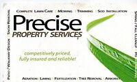 Precise  Property   Services SNOW REMOVAL-ICE CONTROL