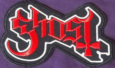 GHOST PATCH GHOST B.C. PATCH LOGO PAPA EMERITUS HEAVY METAL DOOM STONER METAL