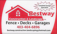 403-404-6896 (BESTWAY CONSTRUCTION AND LANDSCAPING LTD.)