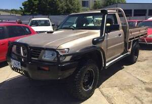 2001 Nissan Patrol Coil Cab DX 4x4 Cab Chassis Turbo Diesel Invermay Launceston Area Preview