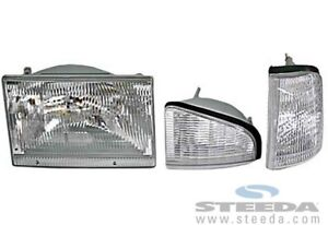 HEAD LIGHT ORIGINAL AVANT FORD MUSTANG 1987 A 1993 NEUF