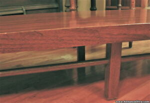 Retro Table basse Acajou / Mid Century EXTRA LONG low table... 8