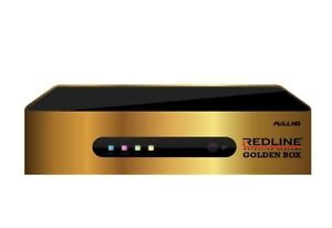 Redline Golden box satellites 1 year subscription  free
