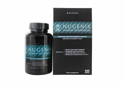 Nugenix Ultimate Testosterone Booster Dietary Supplement - 120 Tablets