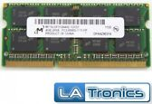 Micron 4 GB PC3-12800 DDR3-1600 Laptop Memory RAM MT16JSF51264HZ-1G1D1