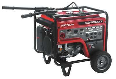 HONDA EB6500X1AT Portable Generator,7000W,389cc G3686076