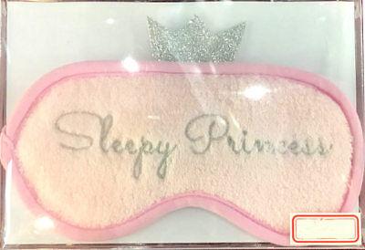 Prinzessin Schlafbrille Schlafmaske Augenmaske flauschig weich NEU ()