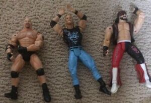 WCW WWE Wrestling Action Figures