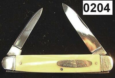 Shapleigh 1940s Advertiser Knife John Zink Burners Hamworthy Tulsa Imit Pearl