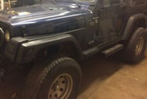 Wanted 33 x 12.5 - 15 wheels and tires for a TJ Jeep