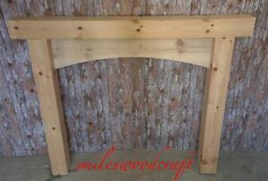 Wooden Fire Surround Solid Pine Bespoke Fire Surrounds Hand Made
