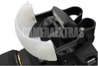 Pop Up Flash Diffuser 3 Colour for DSLR Blut in Canon/Nikon/Pentax/Panasonic UK