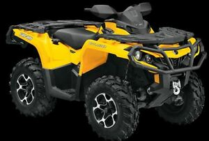 Like New:  2014 Can Am Outlander 500