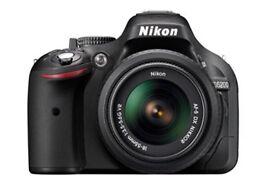 Nikon D5200 Digital SLR Camera with 18-55mm VR Lens Kit - Black