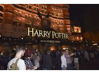 2 x Harry Potter and the Cursed Child Play PART TWO Tickets Palace Theater 5 Oct 2016 7:30pm