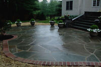 Premium Flagstone Patio @ reduced rate for early bookings now!!