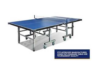 25MM TOURNAMENT SIZE TABLE TENNIS/PING PONG TABLE FULL ACCESSORY Northmead Parramatta Area Preview