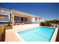 LS610. Lovely villa for 6 persons with gated private pool in Albufeira, on the Algarve, Portugal.