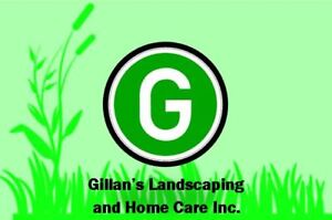 UNBSJ Gillan's Landscaping and Home Care