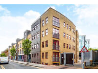 Contemporary 1023 Sq Ft two bedroom flat over 2 floors with patio at Brick Lane