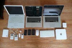 $$ Apple Ipod, Ipad, Iphone, Macbook, Imac $$
