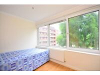 ELEPHANT N CASTLE SE17 SPACIOUS 3 BED SEPARATE LOUNGE & KITCHEN & PRIVATE BALCONY AVAIL FEB £420PW