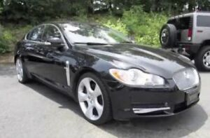 Supercharged jaguar xf