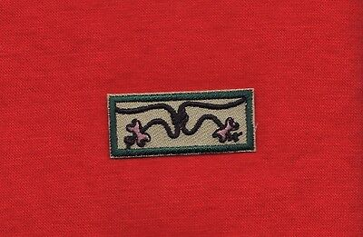 2 BEADS KNOT Wood Badge Award Patch Boy Scout Course