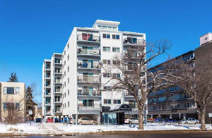 River view! Jasper Ave, One bedroom apartment!