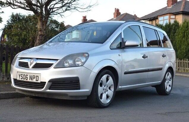 2006 Vauxhall Zafira 2.2 Automatic 7 Seater Nice Family Car