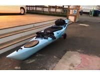 Sea Touring Kayak with Gear