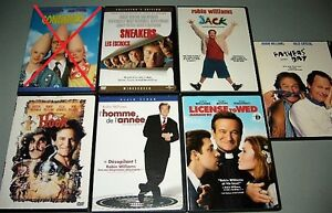 DVD Comédie: Chevy Chase, Jim Carrey, Robin Williams 4$+