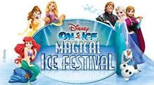 Disney on ice FRONT ROW SEATS X 4 Newcastle show 10/7/16 10am Swansea Lake Macquarie Area Preview