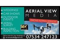 Aerial Drone Photography Videography 4K Wedding Photos