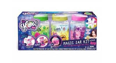 SO Glow DIY- Magic Jar Color-Change Light Kit 3-Pack, Love Happy & Harmony Theme - Diy Glow Jars