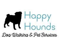 Happy Hounds Dog Walker & Pet Services! 10% Off first walk!