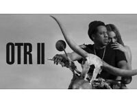 Beyoncé & Jay Z Standing Tickets North East West 16th June £110