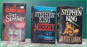 Lot of 2 Stephen King Pocket Books
