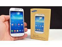 Samsung Galaxy s4 mini unlocked 4g White cheap phone brand new