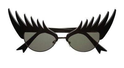 Glam Rock Sunglasses (❤️Tatty Devine Eyelash Designer Sunglasses Avant Garde Glam Rock Stage)
