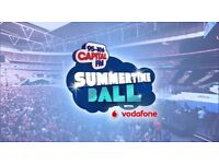 Capital FM Summer Time Ball tickets - excellent seats