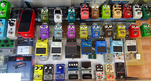 Mini Effects pedals, lots of options to choose from!
