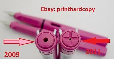 REAL 2009 SPECIAL EDITION LAMY SAFARI PINK Fountain Pen AND NOT 2011 PINK