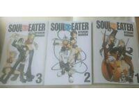 Soul eater manga 1-3 used