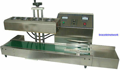 220V  Continuous Induction Sealer Bottle Cap Sealing Machine  for sale  Shipping to Nigeria
