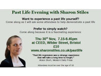 Past Life Evening with Sharon Stiles