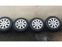 Genuine VW Golf Mk5 alloy wheels